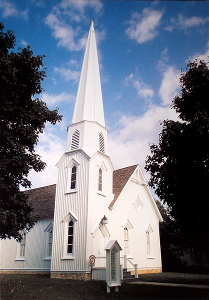 Pioneer Gothic Church in Dwight, IL